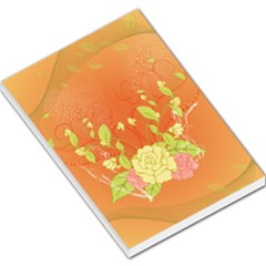 Beautiful Flowers In Soft Colors Large Memo Pads
