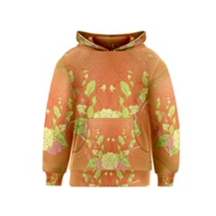 Beautiful Flowers In Soft Colors Kid s Pullover Hoodies