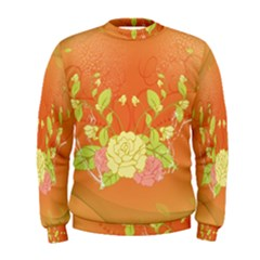 Beautiful Flowers In Soft Colors Men s Sweatshirts