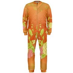 Beautiful Flowers In Soft Colors Onepiece Jumpsuit (men)