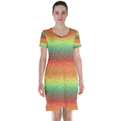 Gradient Chaos Short Sleeve Nightdress