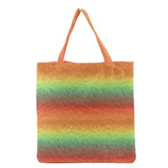 Gradient chaos Grocery Tote Bag