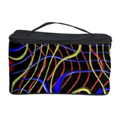Ribbon Chaos 2 Black  Cosmetic Storage Cases