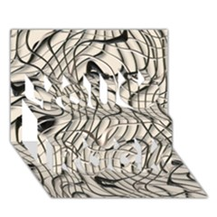 Ribbon Chaos 2  You Rock 3D Greeting Card (7x5)