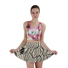 Ribbon Chaos 2  Mini Skirts