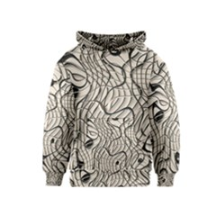 Ribbon Chaos 2  Kid s Pullover Hoodies