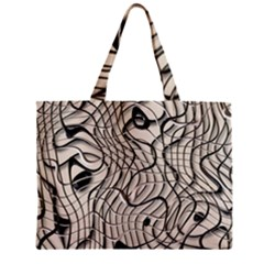 Ribbon Chaos 2  Zipper Tiny Tote Bags