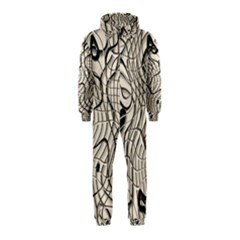 Ribbon Chaos 2  Hooded Jumpsuit (Kids)