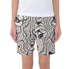 Ribbon Chaos 2  Women s Basketball Shorts