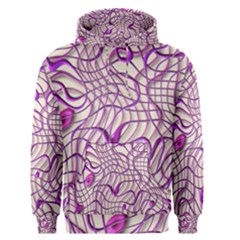 Ribbon Chaos 2 Lilac Men s Pullover Hoodies