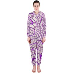 Ribbon Chaos 2 Lilac Hooded Jumpsuit (ladies)