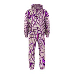 Ribbon Chaos 2 Lilac Hooded Jumpsuit (kids)