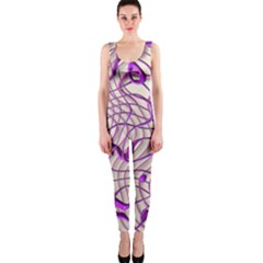 Ribbon Chaos 2 Lilac Onepiece Catsuits