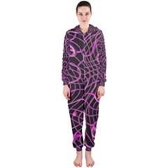 Ribbon Chaos 2 Pink Hooded Jumpsuit (Ladies)