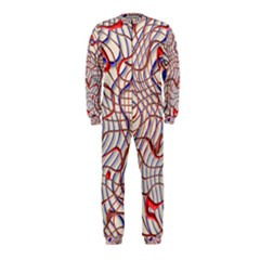 Ribbon Chaos 2 Red Blue OnePiece Jumpsuit (Kids)