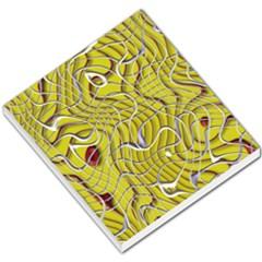 Ribbon Chaos 2 Yellow Small Memo Pads