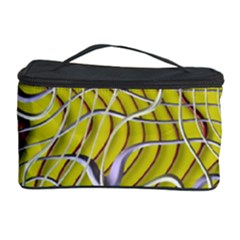 Ribbon Chaos 2 Yellow Cosmetic Storage Cases