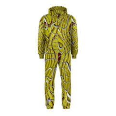Ribbon Chaos 2 Yellow Hooded Jumpsuit (kids)
