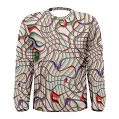Ribbon Chaos 2 Men s Long Sleeve T-shirts