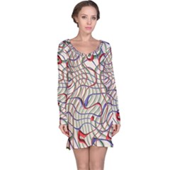 Ribbon Chaos 2 Long Sleeve Nightdresses
