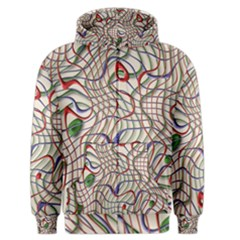 Ribbon Chaos 2 Men s Zipper Hoodies