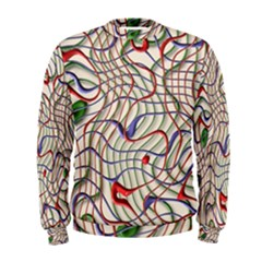Ribbon Chaos 2 Men s Sweatshirts