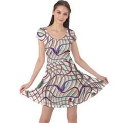 Ribbon Chaos 2 Cap Sleeve Dresses