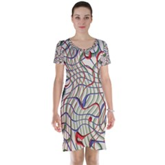 Ribbon Chaos 2 Short Sleeve Nightdresses