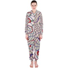 Ribbon Chaos 2 Hooded Jumpsuit (Ladies)
