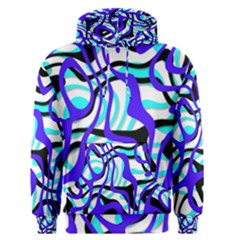 Ribbon Chaos Ocean Men s Pullover Hoodies
