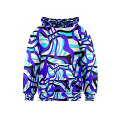 Ribbon Chaos Ocean Kid s Pullover Hoodies