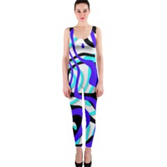 Ribbon Chaos Ocean OnePiece Catsuits