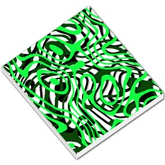 Ribbon Chaos Green Small Memo Pads