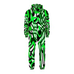 Ribbon Chaos Green Hooded Jumpsuit (kids)