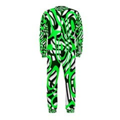 Ribbon Chaos Green Onepiece Jumpsuit (kids)