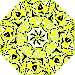 Ribbon Chaos Yellow Folding Umbrellas