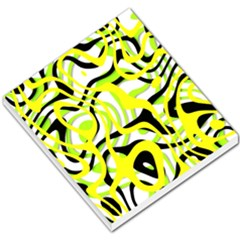 Ribbon Chaos Yellow Small Memo Pads