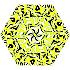 Ribbon Chaos Yellow Mini Folding Umbrellas