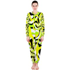 Ribbon Chaos Yellow OnePiece Jumpsuit (Ladies)