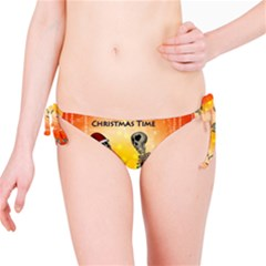 Dancing For Christmas, Funny Skeletons Bikini Bottoms