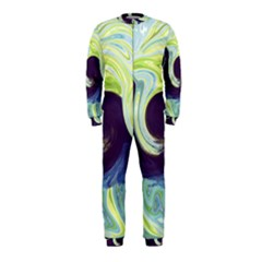 Abstract Ocean Waves OnePiece Jumpsuit (Kids)