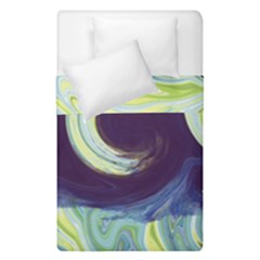 Abstract Ocean Waves Duvet Cover (single Size)