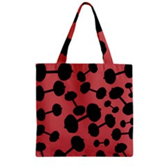 Work Out Wear Zipper Grocery Tote Bags