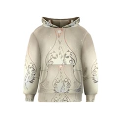 Music, Piano With Clef On Soft Background Kid s Pullover Hoodies