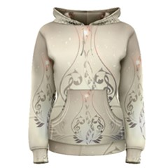 Music, Piano With Clef On Soft Background Women s Pullover Hoodies
