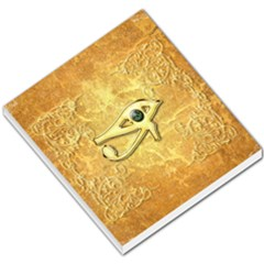 The All Seeing Eye With Eye Made Of Diamond Small Memo Pads