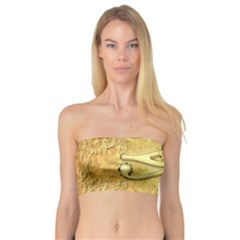 The All Seeing Eye With Eye Made Of Diamond Women s Bandeau Tops