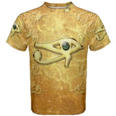 The All Seeing Eye With Eye Made Of Diamond Men s Cotton Tees