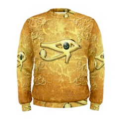 The All Seeing Eye With Eye Made Of Diamond Men s Sweatshirts