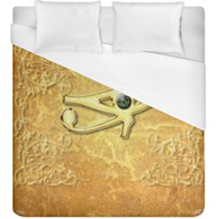 The All Seeing Eye With Eye Made Of Diamond Duvet Cover Single Side (kingsize)